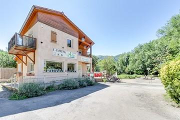La réception de notre camping en Ariège
